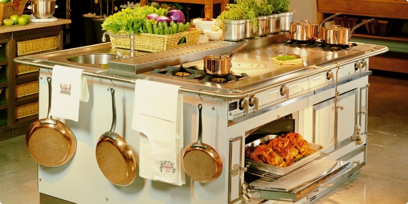 Chateau 150 bella cucina design - La cornue chateau 150 ...