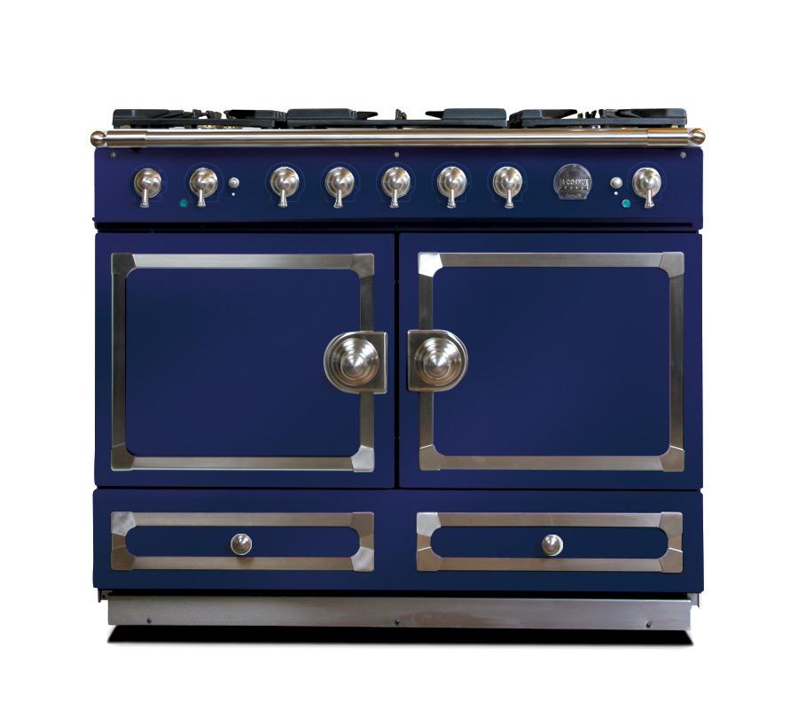 CornuFé 110 Dark Navy Blue With Satin Chrome Trim $8600